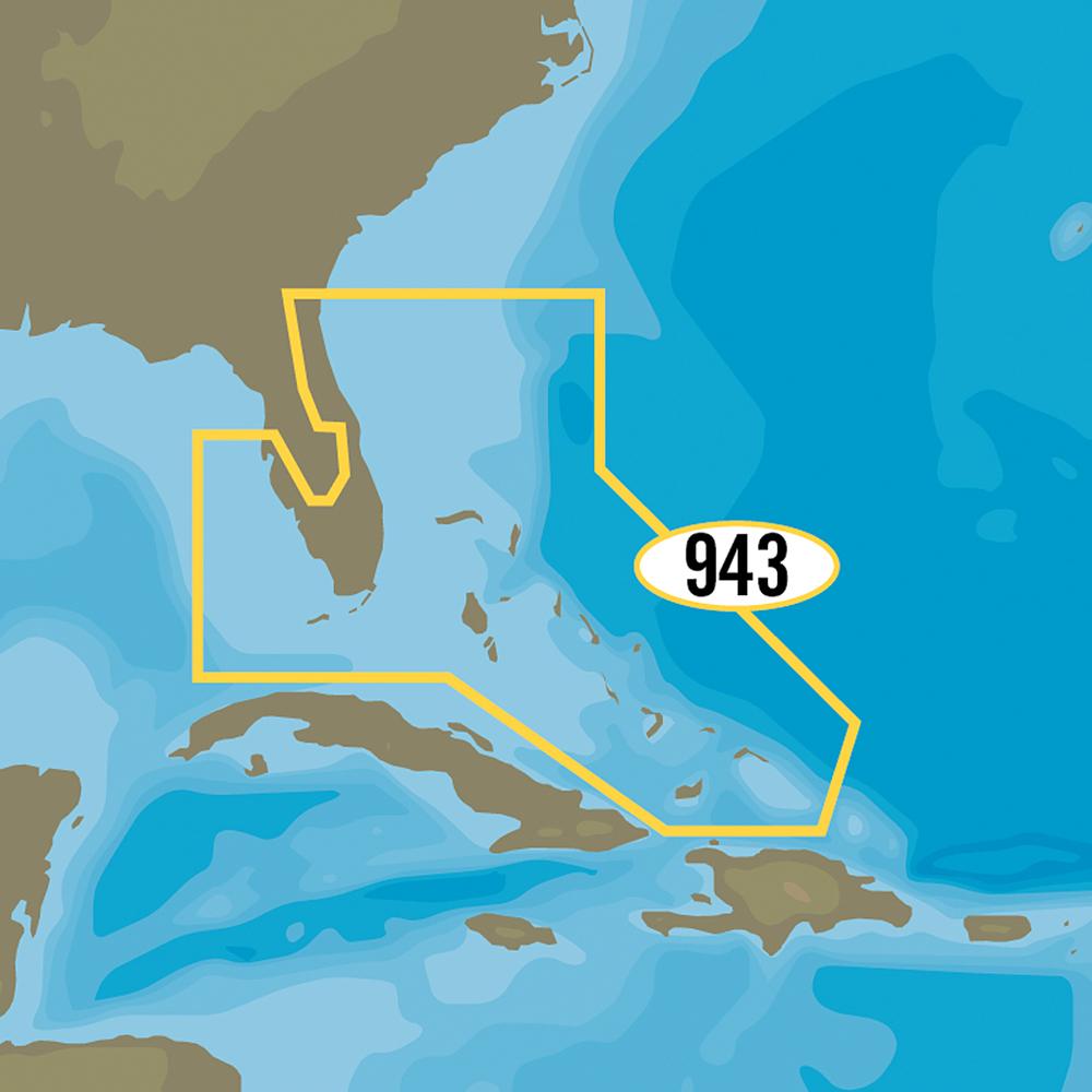 C-MAP MAX-N+ NA-Y943 - Florida & The Bahamas - NA-Y943