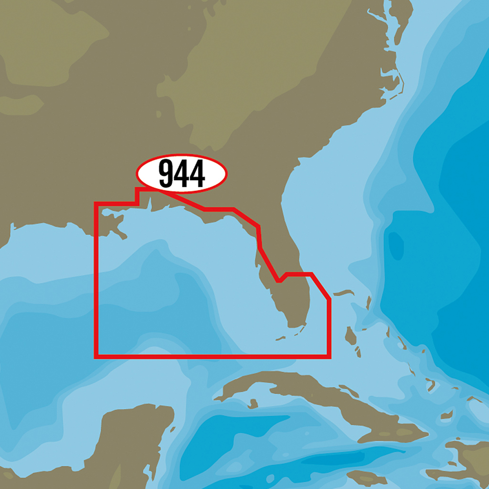 C-MAP MAX-N+ NA-Y944 - St. Lucie Inlet to New Orleans - NA-Y944