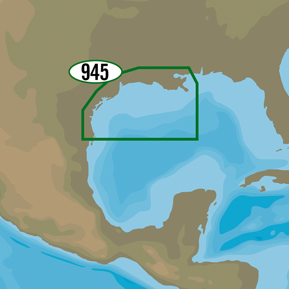 C-MAP MAX-N+ NA-Y945 - New Orleans to Brownsville - NA-Y945