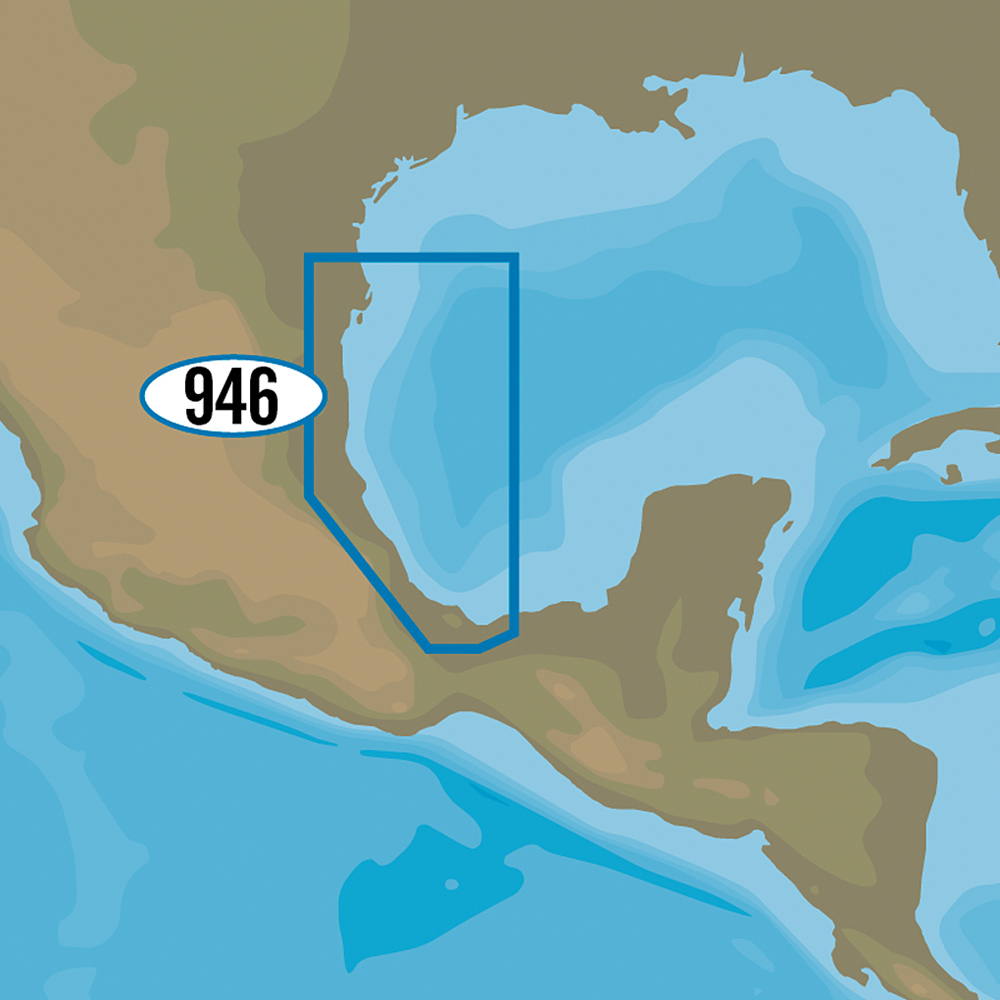 C-MAP MAX-N+ NA-Y946 - Brownsville, TX to Coatzacoalcos, MX - NA-Y946