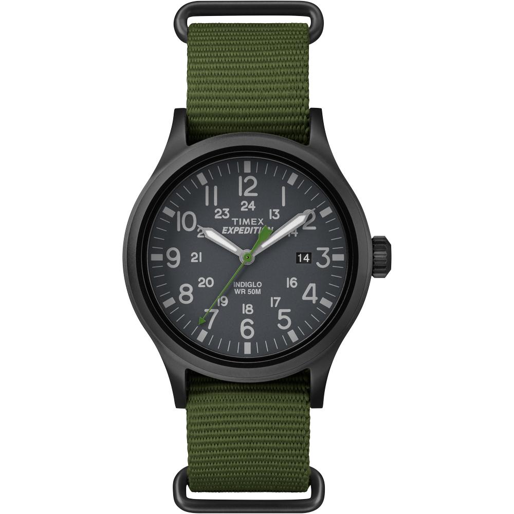Timex Expedition Scout Slip-Thru Watch - Green - TW4B047009J