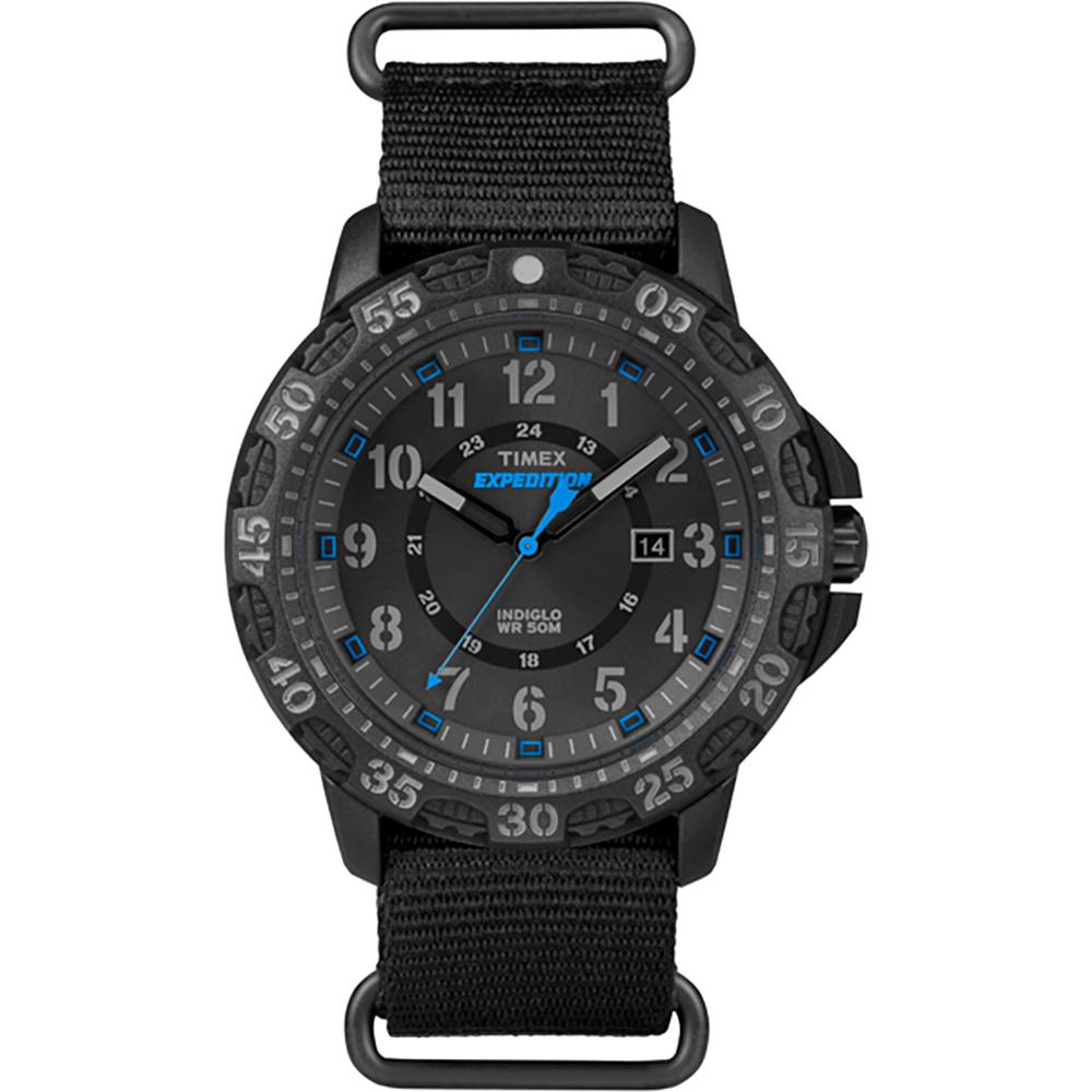 Timex Expedition Rugged Resin Slip-Thru Watch - Black/Black - TW4B035009J