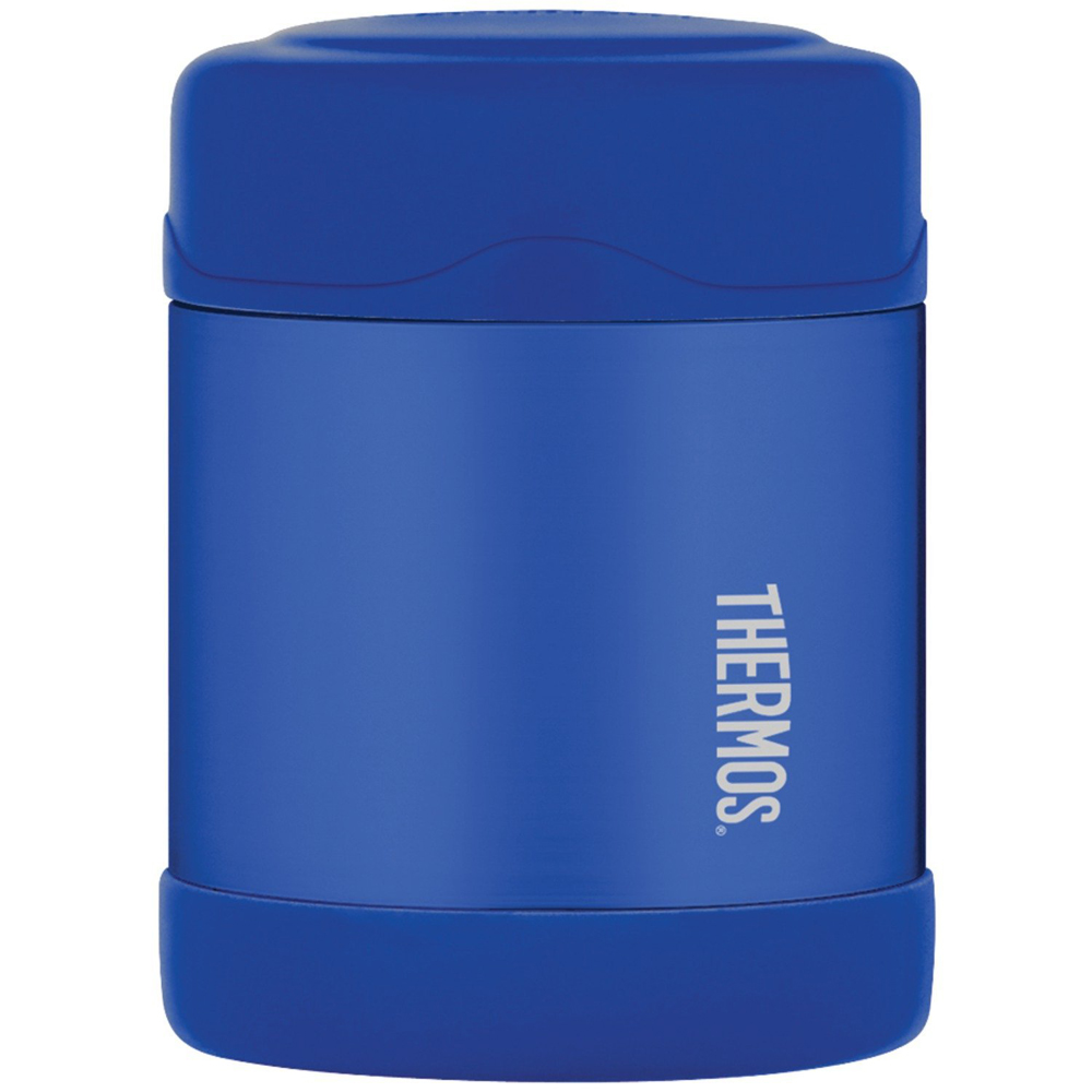 Thermos FUNtainer Stainless Steel, Vacuum Insulated Food Jar - Blue - 10 oz. - F3003BL6