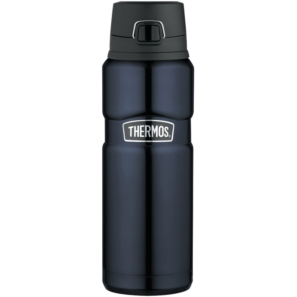 Thermos Stainless King Stainless Steel, Vacuum Insulated Drink Bottle - Midnight Blue - 24 oz. - SK4000MBTRI4
