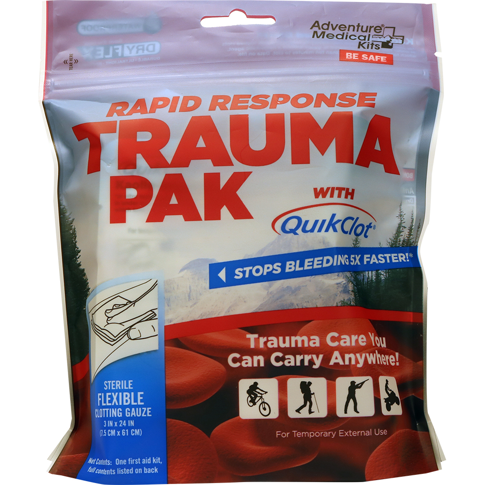 Adventure Medical Rapid Response Trauma Pak w/QuikClot®