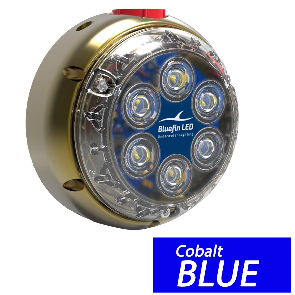 Bluefin LED DL12 Industrial Dock Light - Cobalt Blue - DL12I-SM-B128