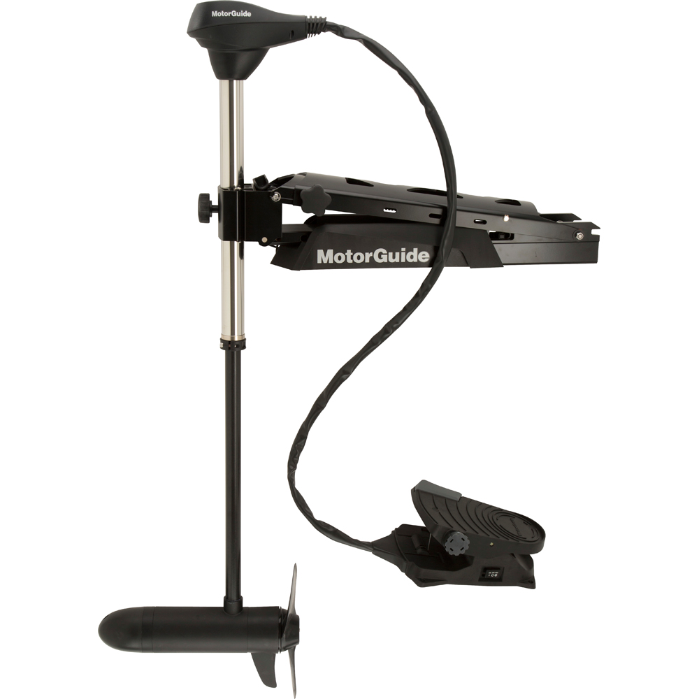 MotorGuide X5-105FW Foot Control Bow Mount Trolling Motor with Sonar - 105lb-50