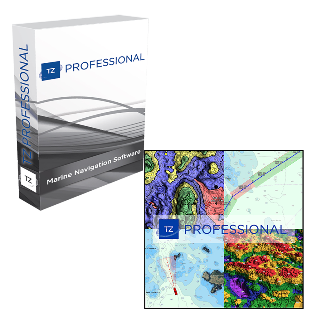 Nobeltec TZ Professional Software - Digital Download - TZ-108