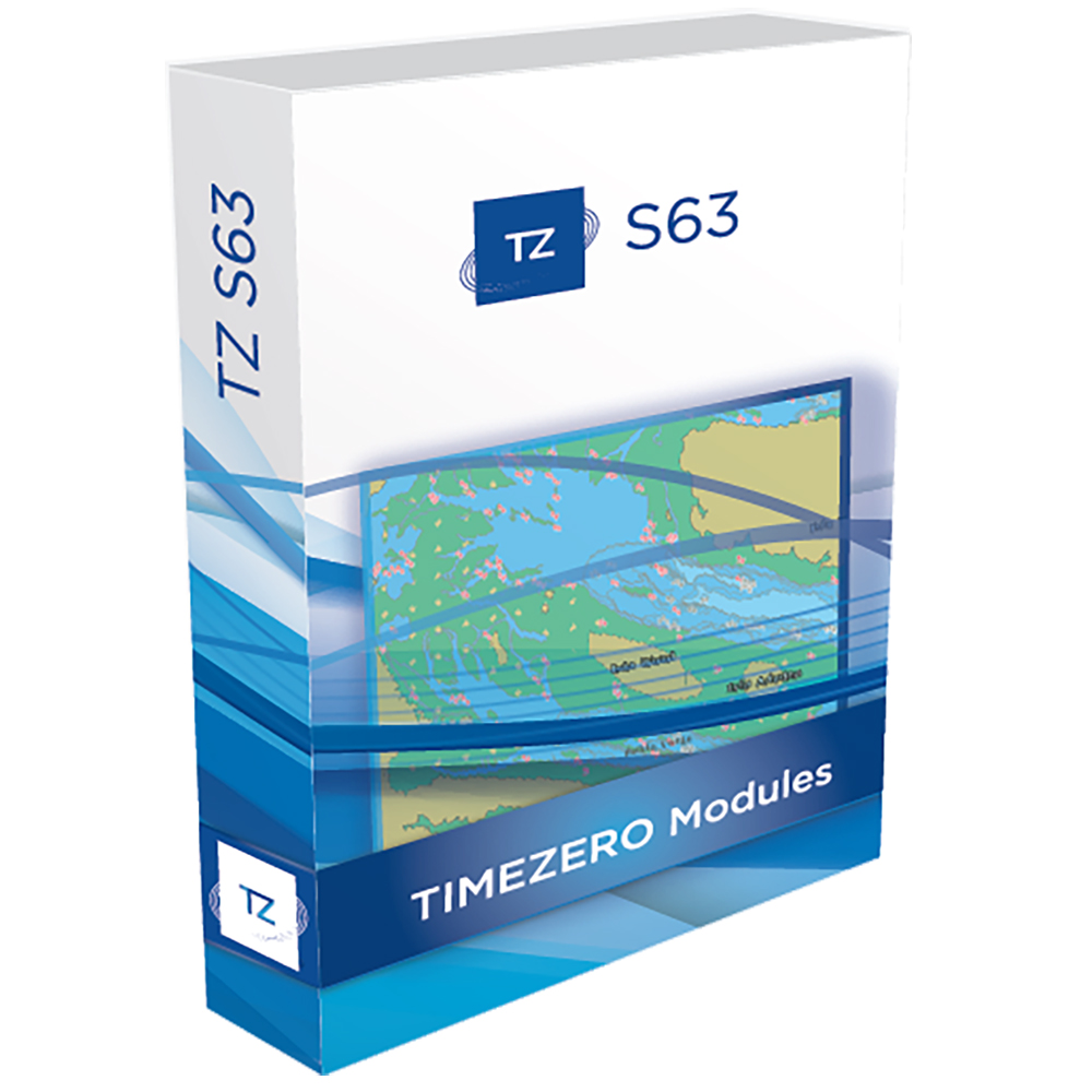 Nobeltec TZ Professional S63 Module - Digital Download - TZ-110
