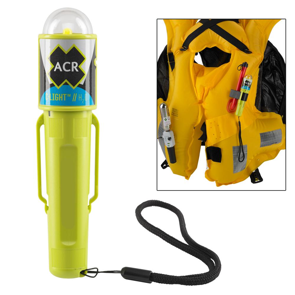 ACR C-Light™ H20 - Water Activated LED PFD Vest Light w/Clip CD-59878