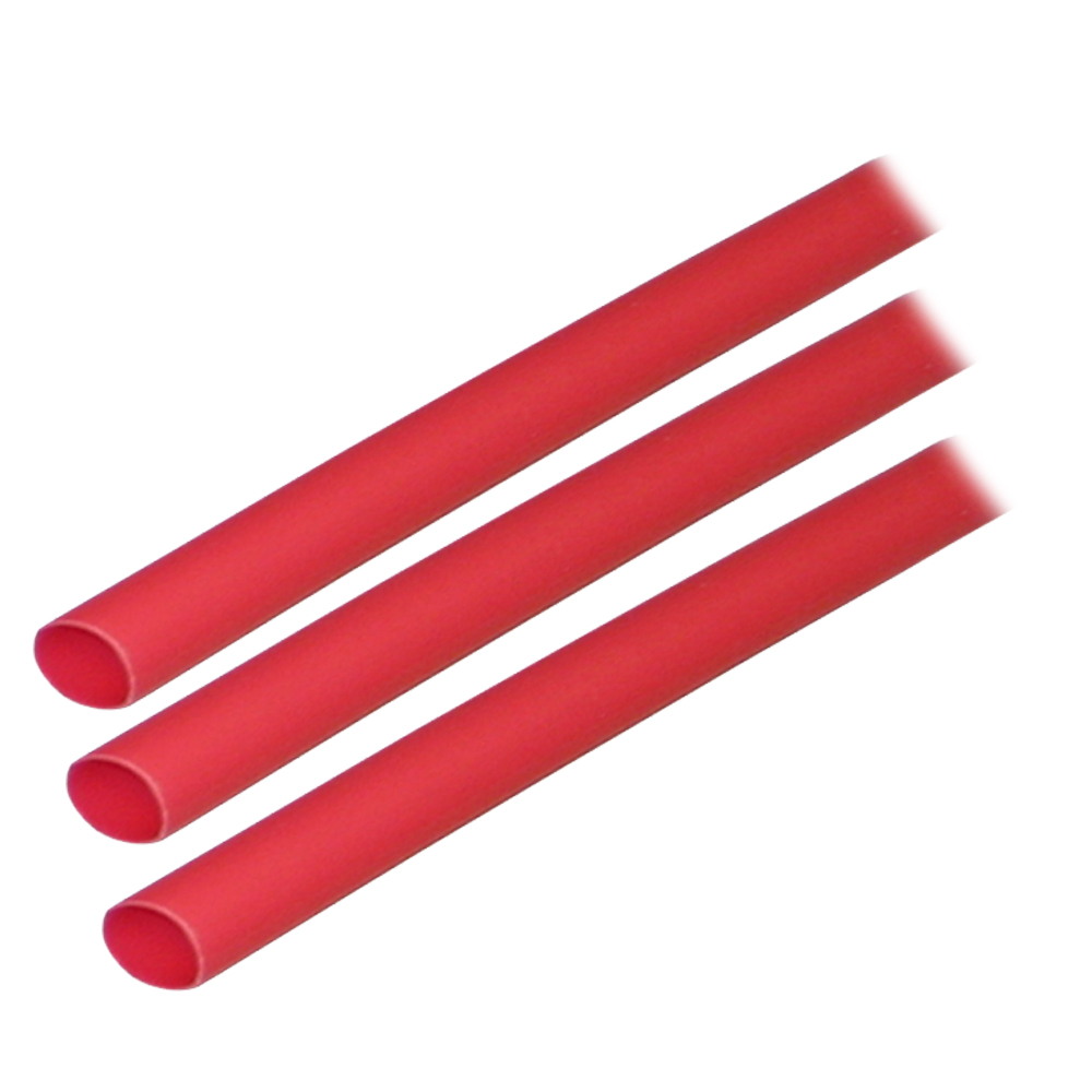 """Ancor Adhesive Lined Heat Shrink Tubing (ALT) - 1/4"""" x 3"""" - 3-Pack - Red CD-60051"""