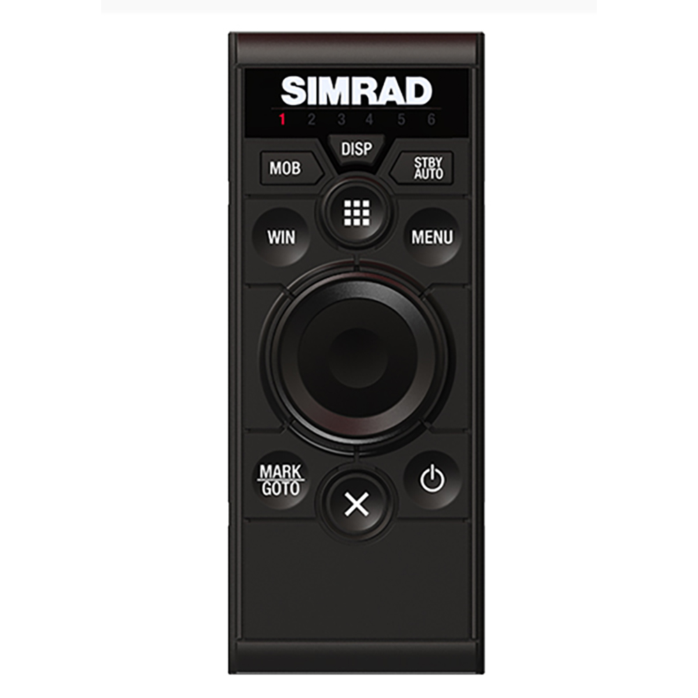 Simrad OP50 Wired Remote Control - Portrait Mount - 000-12364-001