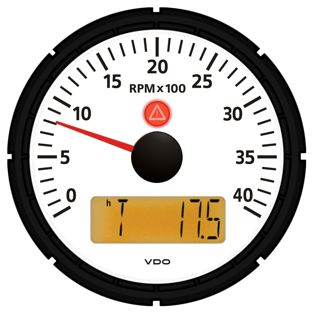 vdo xtreme tachometer wiring diagram electronicswiring diagram vdo viewline ivory 4 000 rpm 3 3 8 85mm marine tachometer