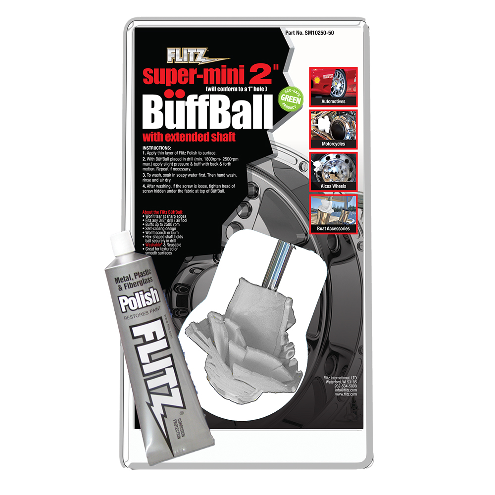 Flitz Buff Ball - Super Mini 2