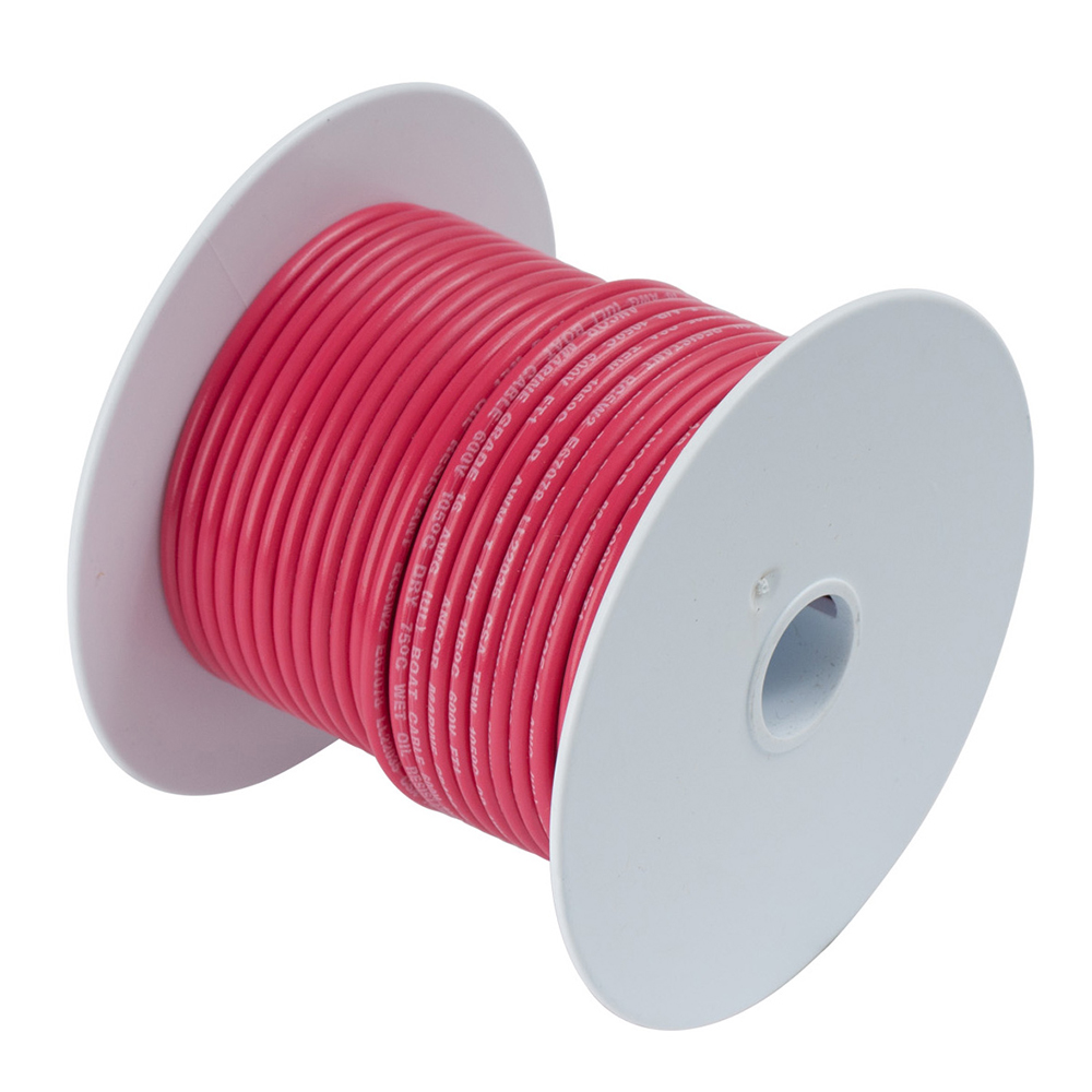 Ancor Red 1 AWG Tinned Copper Battery Cable - 25' - 115502