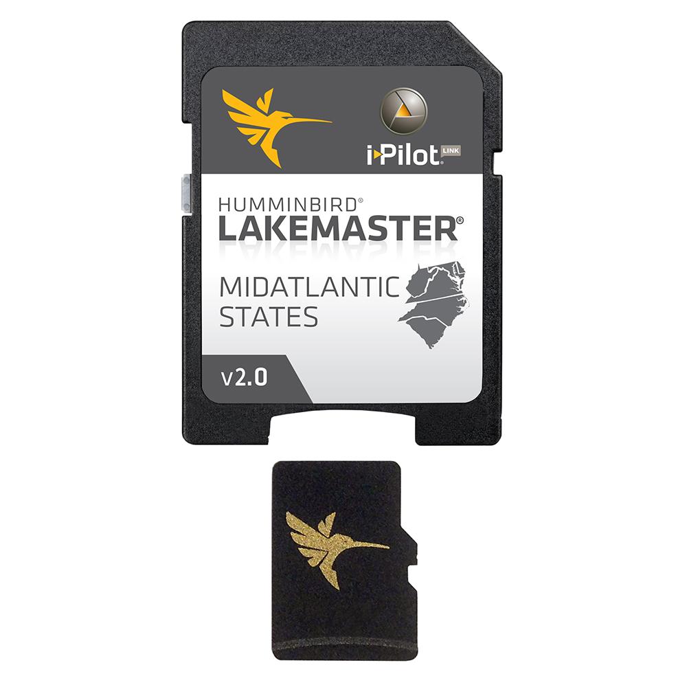 Humminbird LakeMaster Chart - MidAtlantic States - Version 2.0 - MicroSD/SD™ - 600043-3