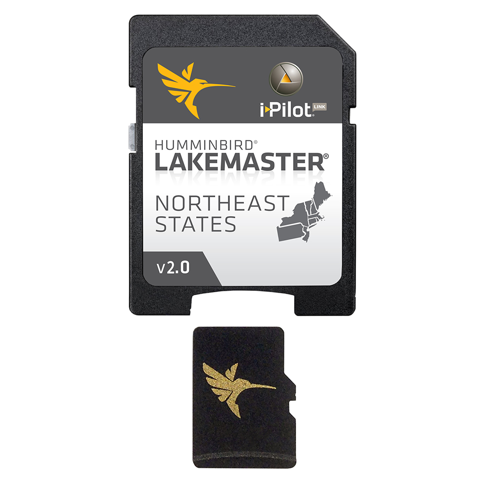 Humminbird LakeMaster Chart - NorthEast - Version 2.0 - MicroSD/SD - 600045-3