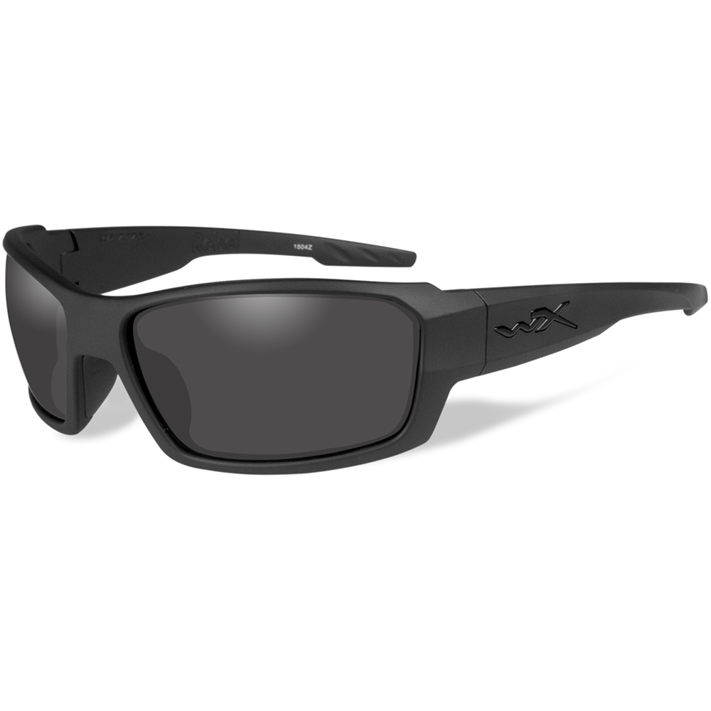 Wiley X Rebel Black Ops Sunglasses - Smoke Grey Lens - Matte Black Frame - ACREB01