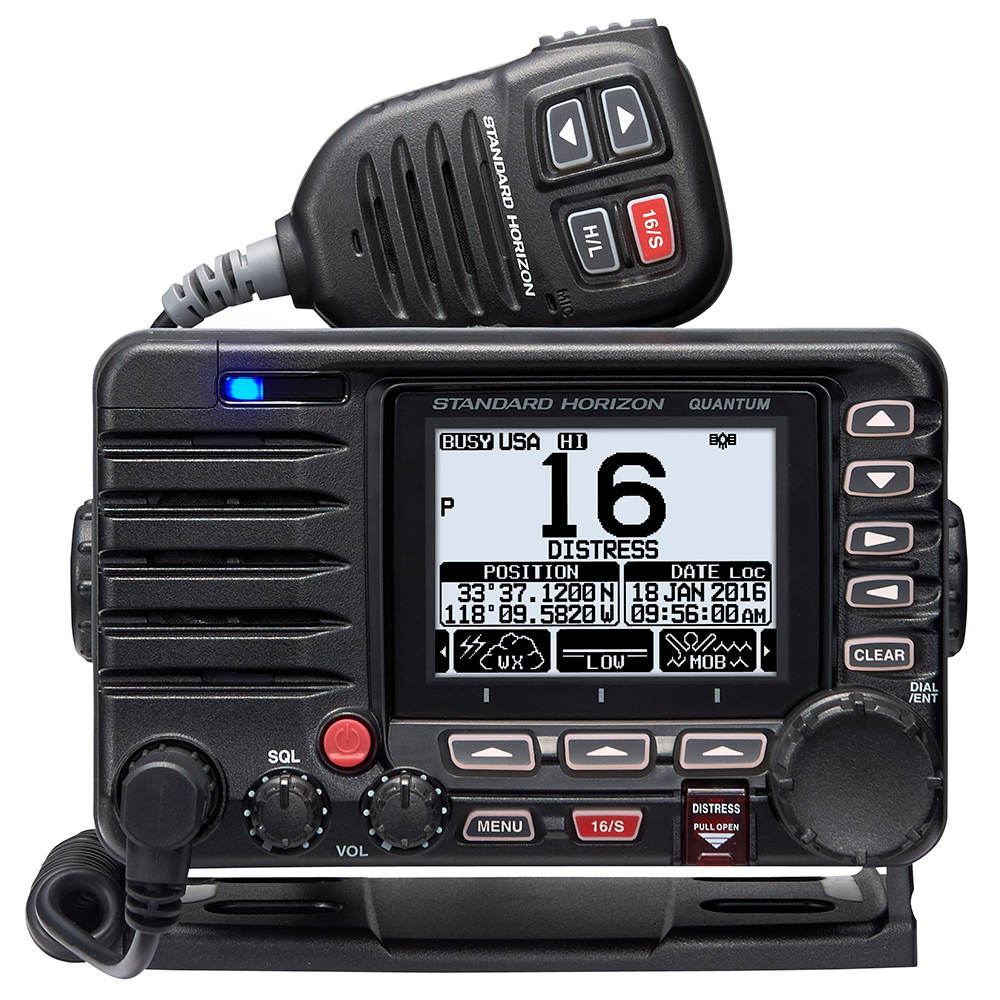 Details about Standard Horizon Quantum GX6000 Commercial VHF Boat Radio  with AIS Receiver/N2K