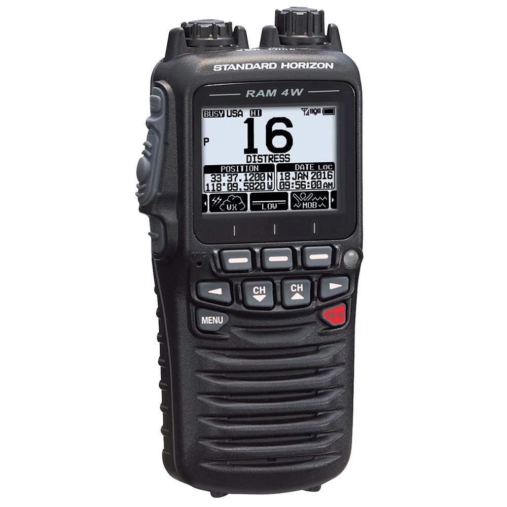 Standard Horizon Wireless Remote Access Microphone RAM4W for GX6000 and GX6500 - SSM-71H
