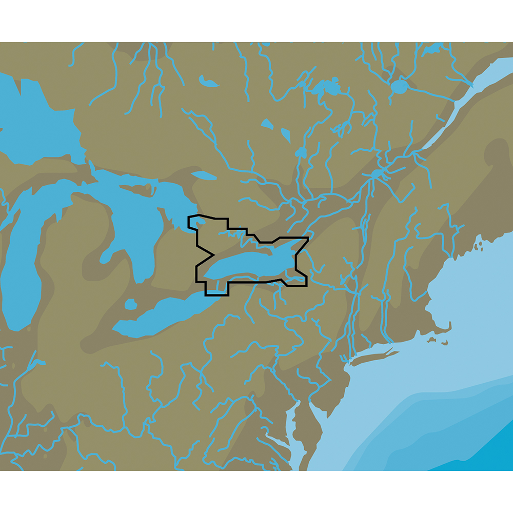 C-MAP NT+ NA-C113 Lake Ontario & The Trent Severn - C-Card Format - NA-C113C-CARD