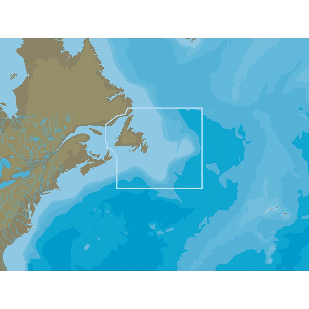 C-MAP NT+ NA-C204 Newfoundland & The Grand Banks - FP-Card Format - NA-C204FPCARD