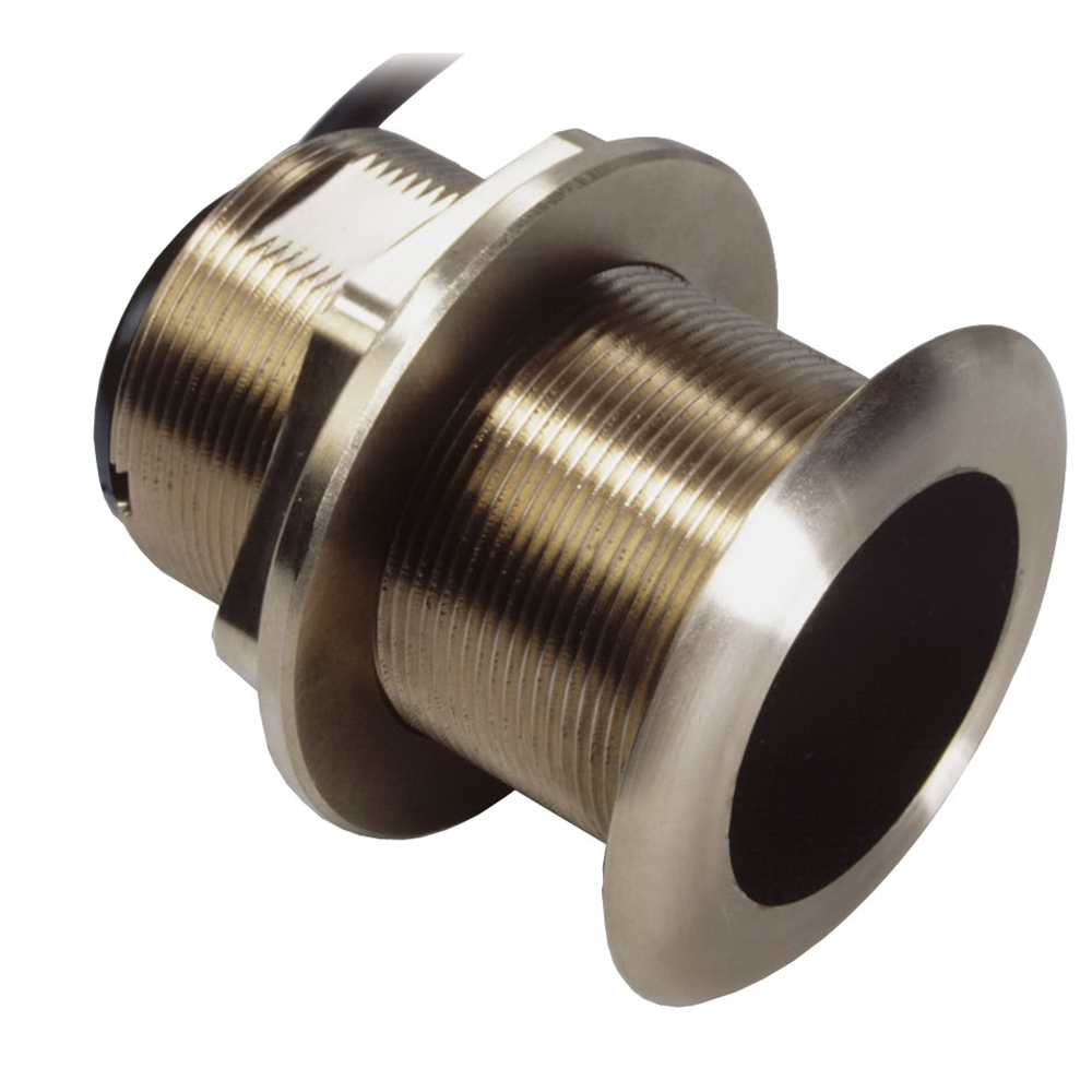 Airmar B60 Bronze Thru-Hull Transducer w/Humminbird #9 Plug - 7-Pin - 20º CD-65252