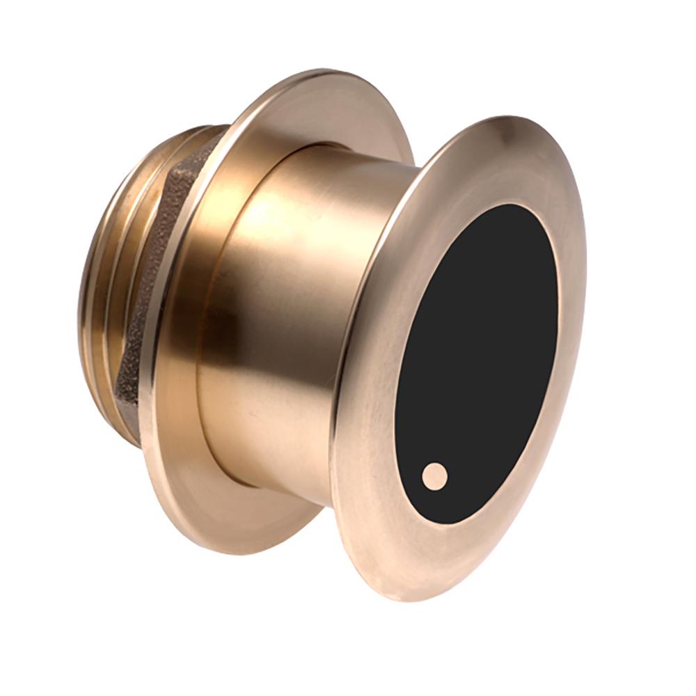 Airmar B164 Bronze Thru-Hull Transducer w/Humminbird #9 Plug - 7-Pin - 12° CD-65254