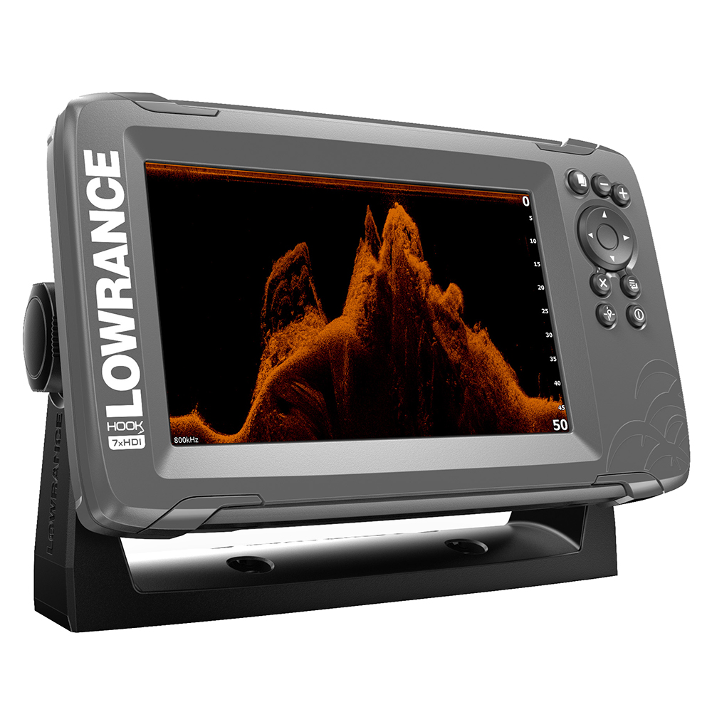 """Lowrance HOOK²-4x 4/"""" GPS Bullet Finder w//Track Plotter /& Xducer--14014-001"""