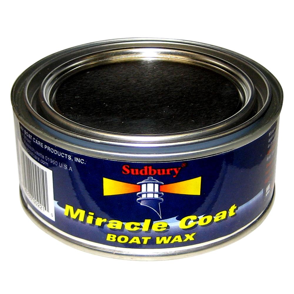 Sudbury Miracle Coat Boat Wax - 11oz Paste - 415