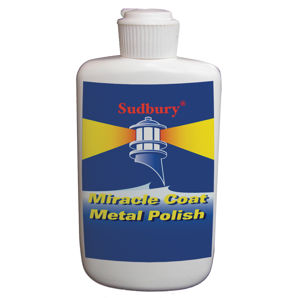 Sudbury Miracle Coat Metal Polish - 8oz Liquid - 420