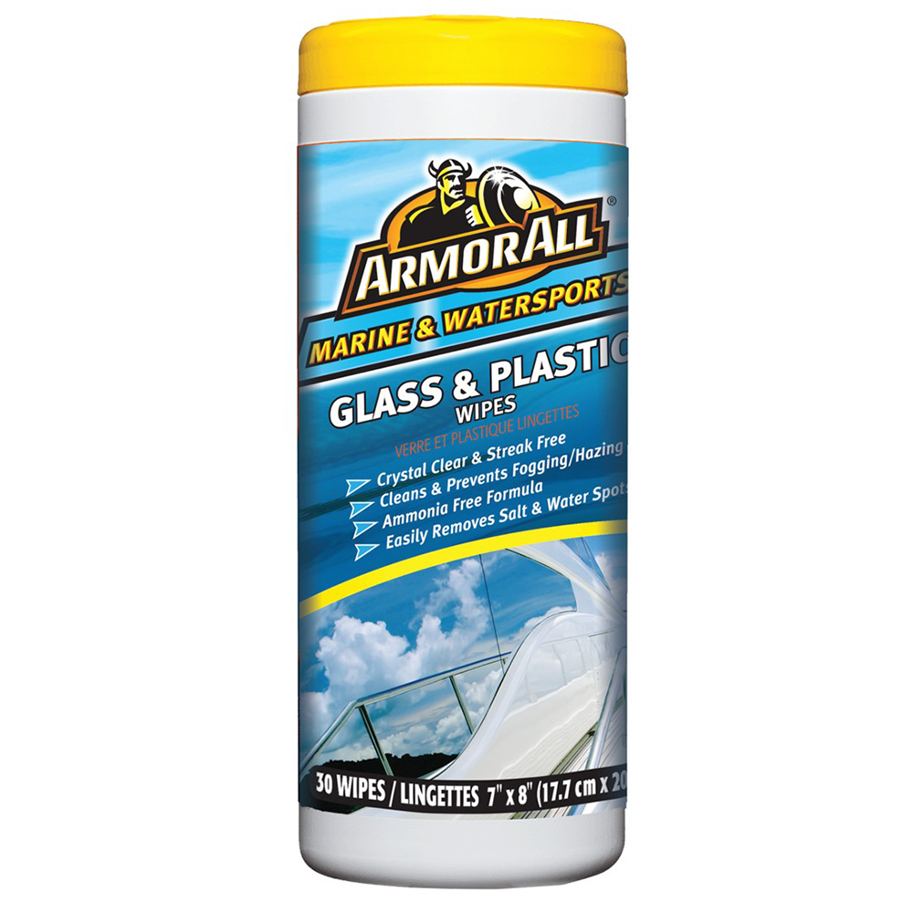 Armor All Glass & Plastic Cleaner Wipes - 12828