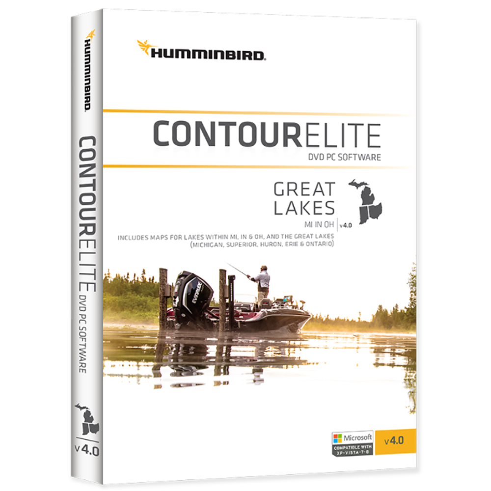 Humminbird Contour Elite Great Lakes 2018 - Version 4 - 600016-4