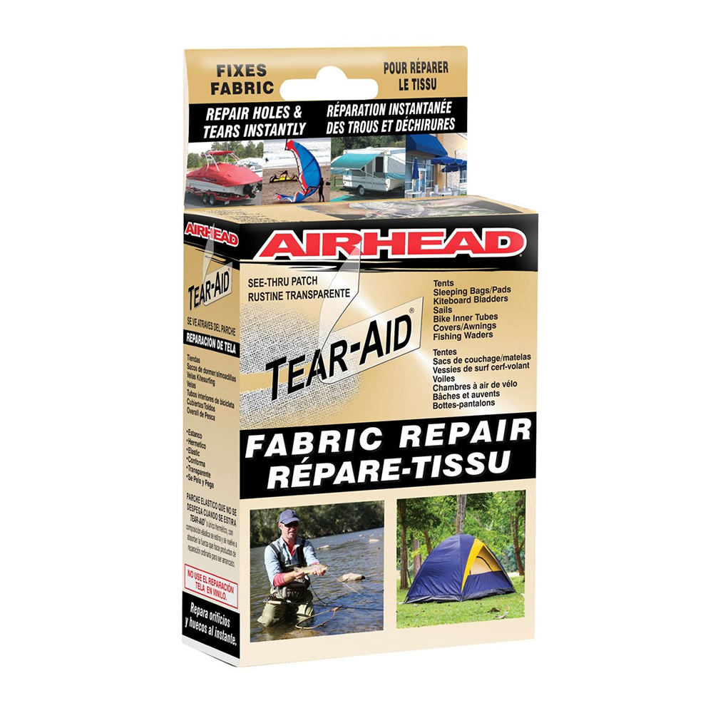AIRHEAD Tear Aid Type A Fabric Repair - AHTR-1A