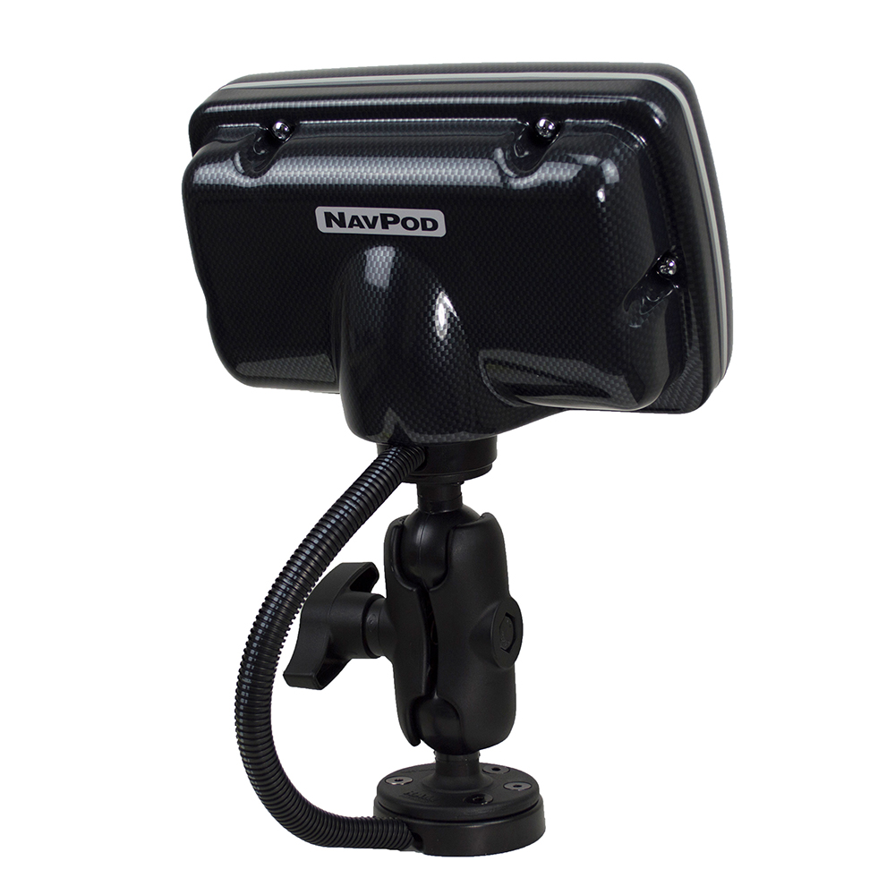 NavPod PowerPod with RAM Mount Pre-Cut for Humminbird HELIX 7 Series 7 -  Carbon Black - PPRS4500-05-C | Anchor Express