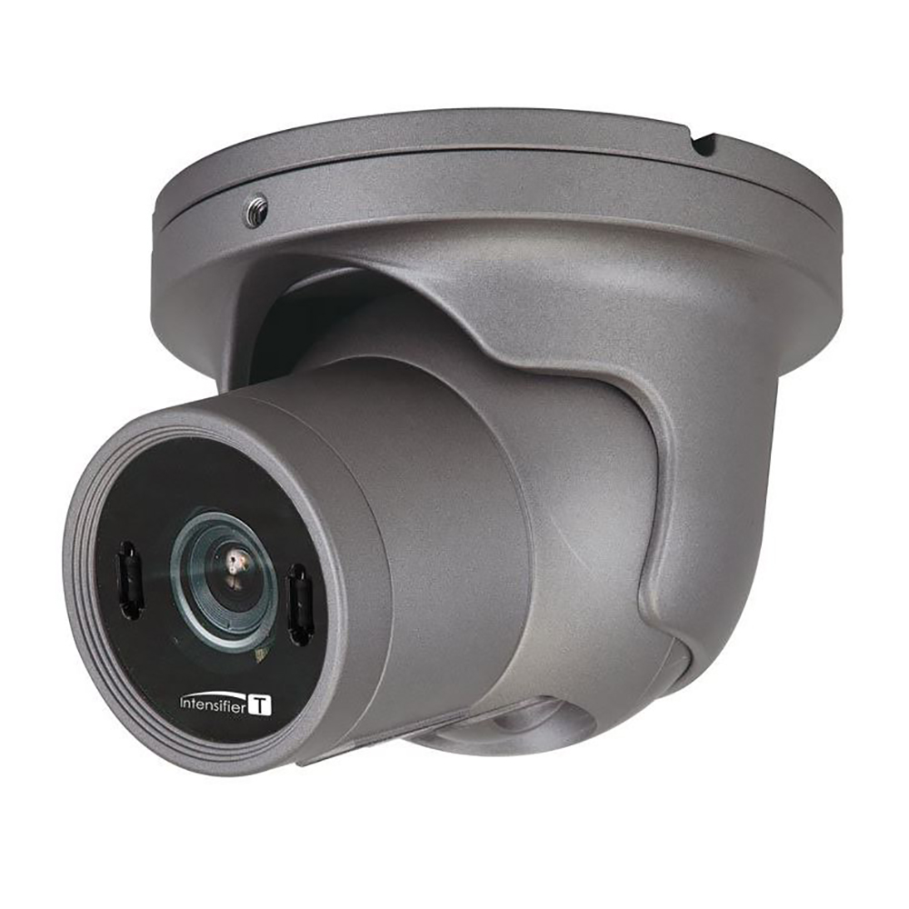 Speco HD-TVI 2MP Intensifier T Turret Camera, 2.8-12mm Lens - Dark Gray Housing - HTINT60T