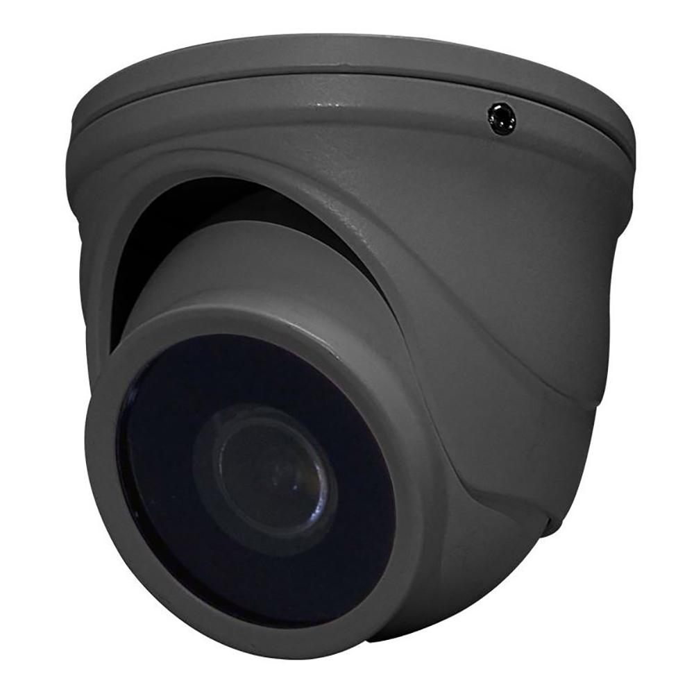 Speco HD-TVI 2MP Intensifier T Mini-Turret Camera, 2.9mm Fixed Lens - Dark Gray Housing - HINT71TG
