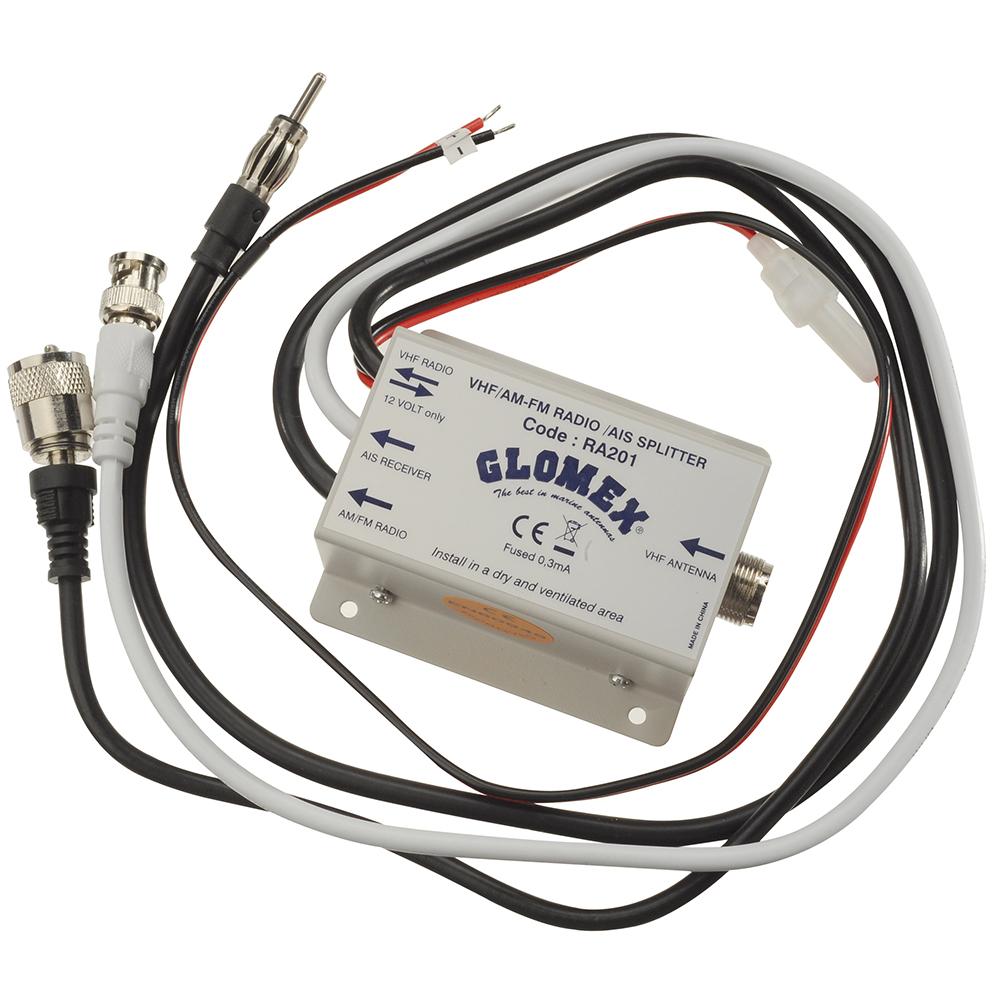 Glomex VHfor AIS/Radio Splitter - 12VDC - RA201