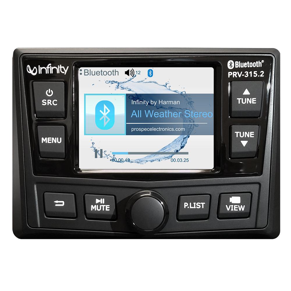 INFINITY PRV315.2 AM/FM/BT/USB STEREO RECEIVER