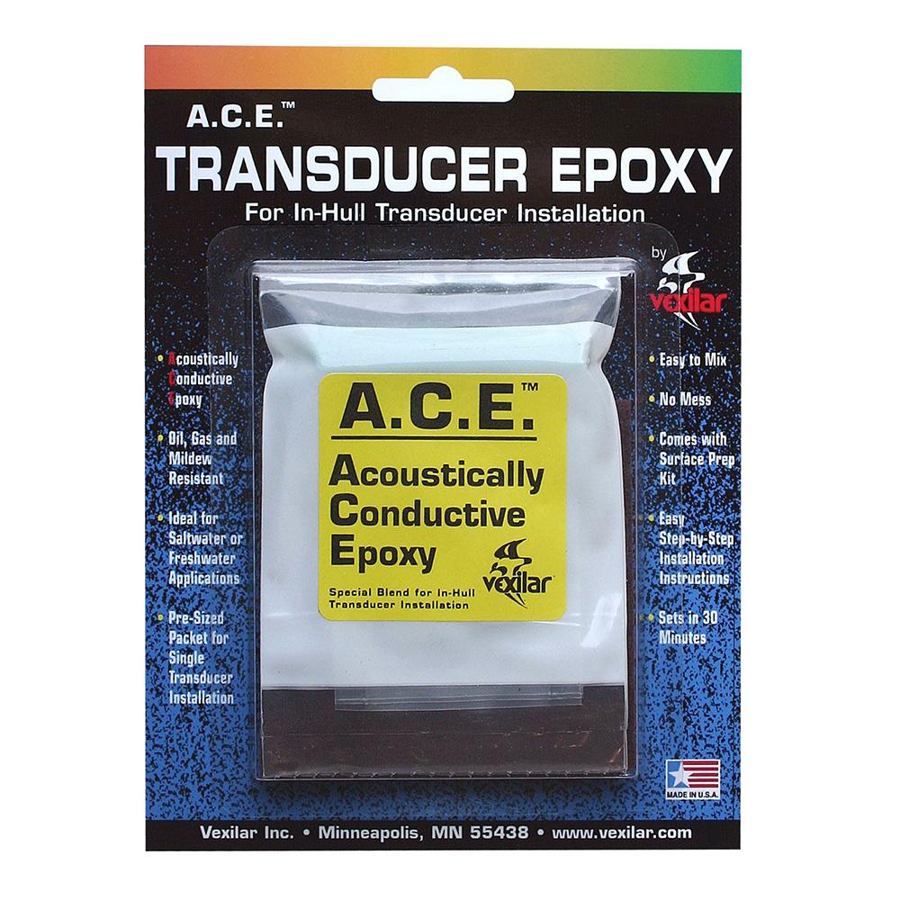 Vexilar A.C.E. Transducer Epoxy - ACE001