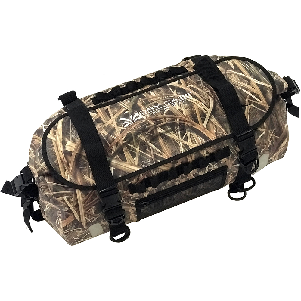 DryCASE The Forty Camo Shadow Grass Blades 40 Liter Waterproof Duffel/Backpack - BP-40-SGB