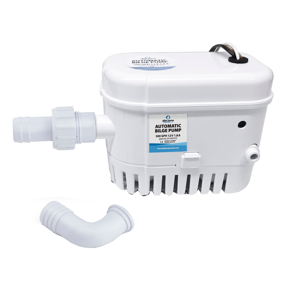 Albin Pump Automatic Bilge Pump 500 GPH - 12V CD-73459