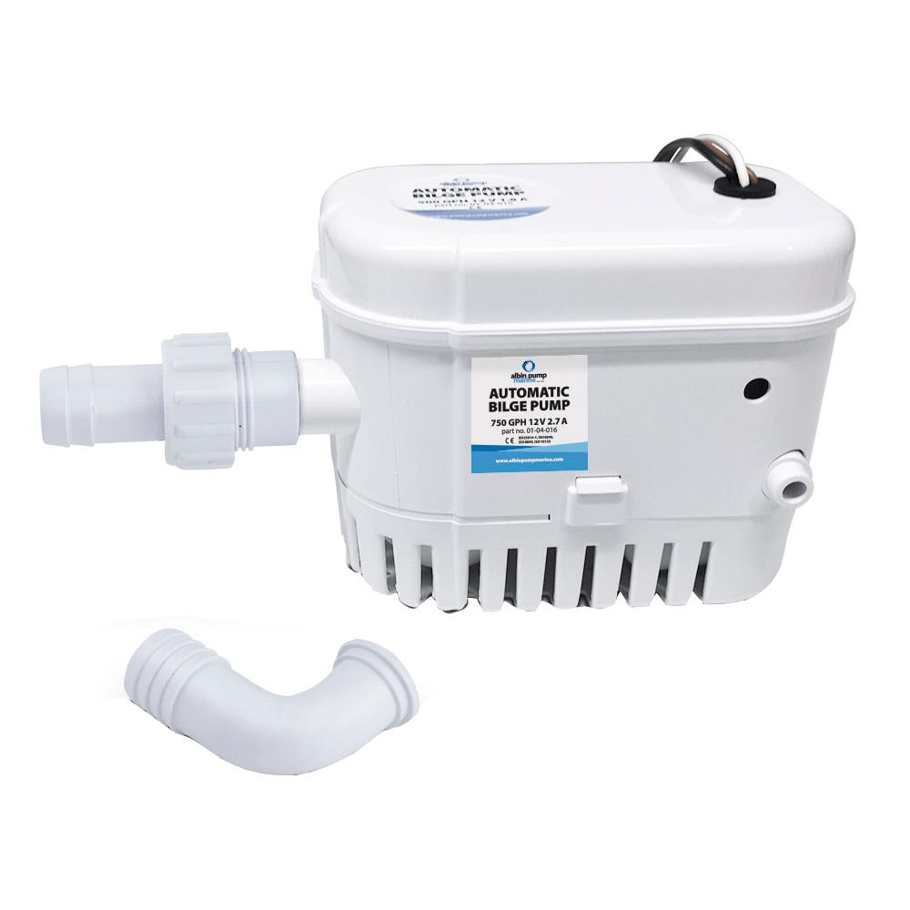 Albin Pump Automatic Bilge Pump 750 GPH - 12V CD-73460