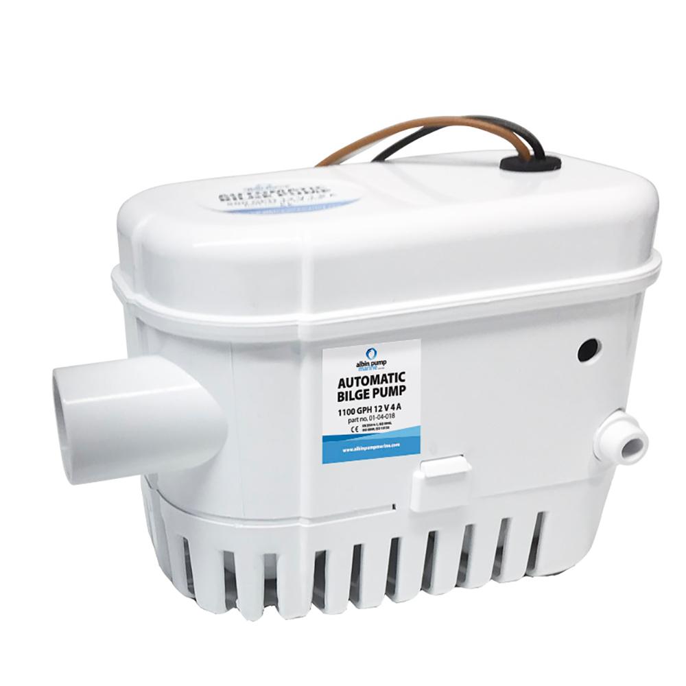 Albin Pump Automatic Bilge Pump 1100 GPH - 12V CD-73462