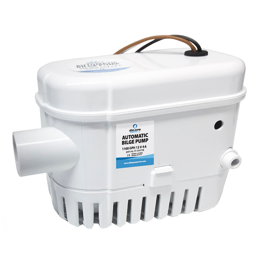 Albin Pump Automatic Bilge Pump 1100 GPH - 24V CD-73463