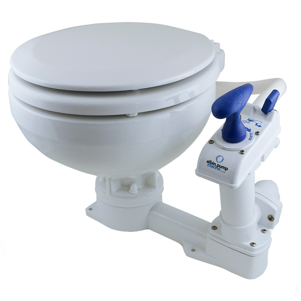 Albin Pump Marine Toilet Manual Comfort CD-73531