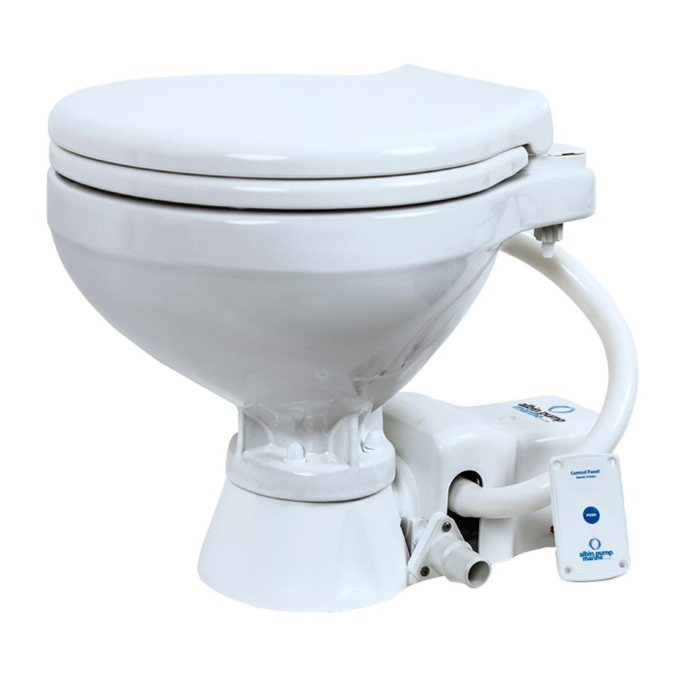 Albin Pump Marine Toilet Standard Electric EVO Compact - 12V CD-73534