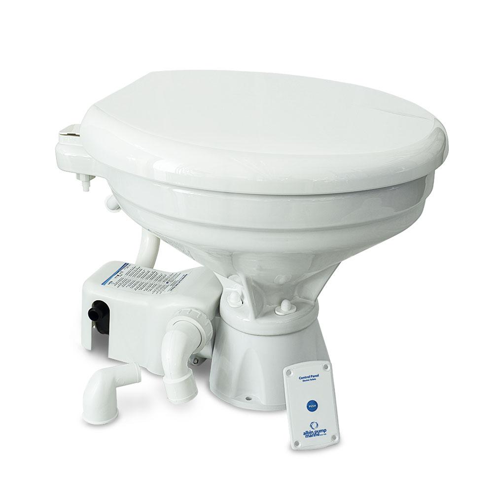 Albin Pump Marine Toilet Standard Electric EVO Comfort - 12V CD-73539