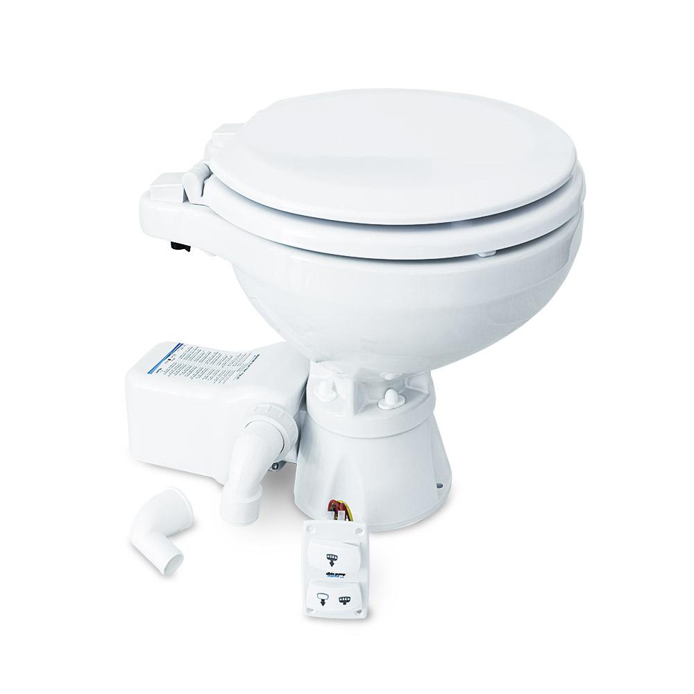 Albin Pump Marine Toilet Silent Electric Compact - 12V CD-73545