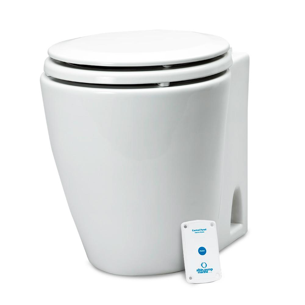 Albin Pump Marine Design Marine Toilet Standard Electric - 24V CD-73551